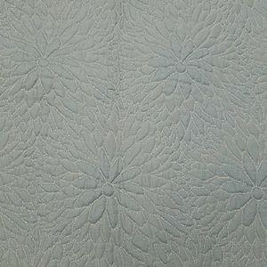 2 ANN GISH mint zinnia matlasee quilted euro shams